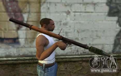 РПГ-2 (Battlefield: Vietnam) für GTA San Andreas dritten Screenshot