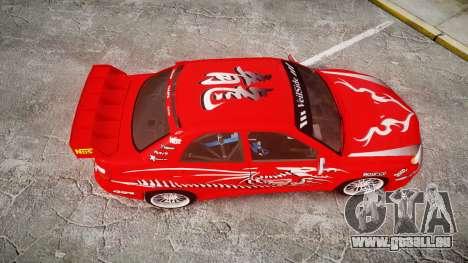 Subaru Impreza WRX STI Street Racer für GTA 4 rechte Ansicht