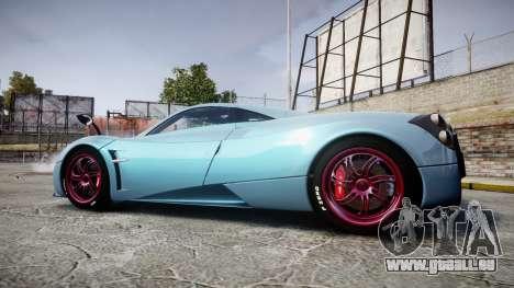 Pagani Huayra 2013 [RIV] für GTA 4 linke Ansicht