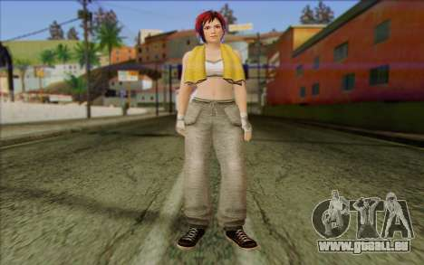 Mila 2Wave from Dead or Alive v16 pour GTA San Andreas