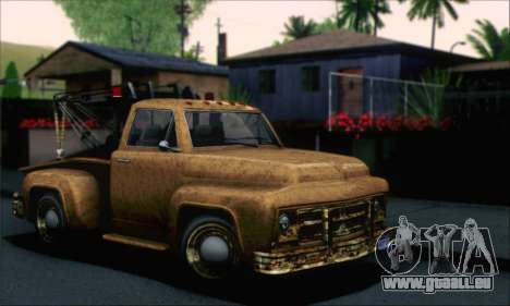 GTA 5 Towtruck Worn pour GTA San Andreas