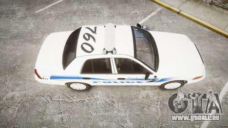 Ford Crown Victoria PS Police [ELS] pour GTA 4 est un droit