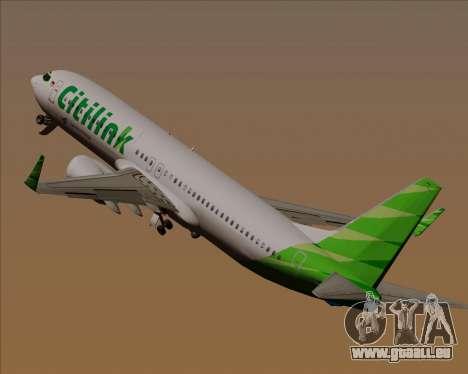 Boeing 737-800 Citilink pour GTA San Andreas roue