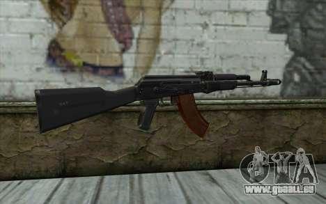 L'AK-103 pour GTA San Andreas deuxième écran