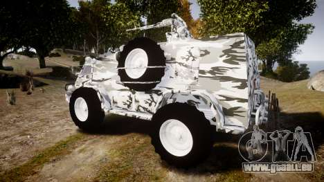 GAZ-3937 Vodnik für GTA 4 linke Ansicht