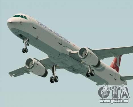 Airbus A321-200 Turkish Airlines für GTA San Andreas Seitenansicht