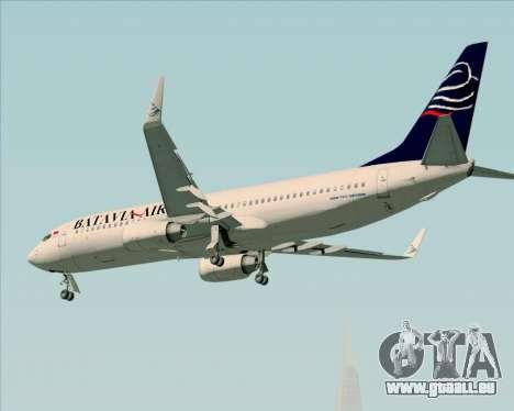 Boeing 737-800 Batavia Air für GTA San Andreas Motor