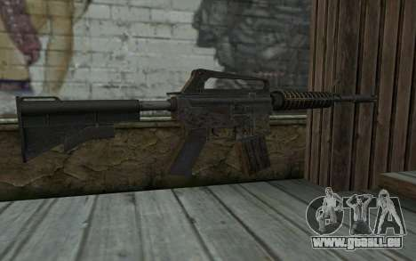 CAR-15 from Battlefield: Vietnam für GTA San Andreas zweiten Screenshot