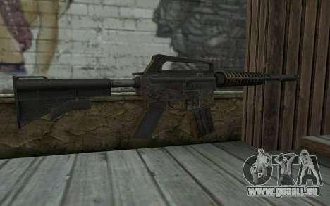 CAR-15 from Battlefield: Vietnam für GTA San Andreas zweiten Screenshot