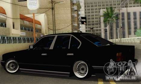 BMW 535 JDM Bosnia pour GTA San Andreas laissé vue
