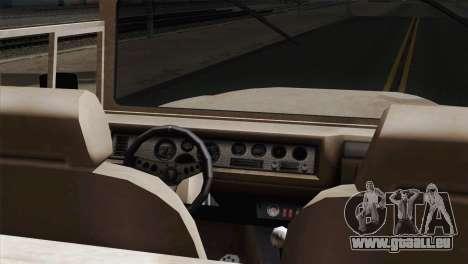 Canis Bodhi V1.0 Army für GTA San Andreas zurück linke Ansicht