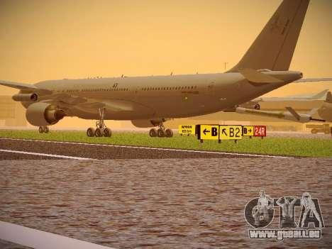 Airbus KC-45A (A330-203) Australian Air Force pour GTA San Andreas vue de droite
