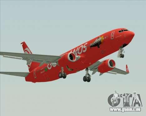 Boeing 737-800 Gol Transportes Aéreos für GTA San Andreas linke Ansicht