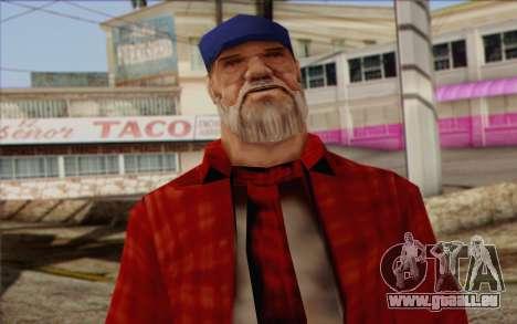 Vagabonds Skin 3 pour GTA San Andreas troisième écran