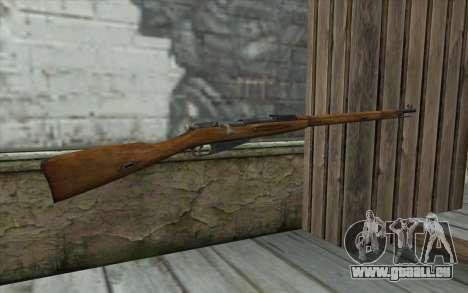 Die Gewehre Mosin-v1 für GTA San Andreas zweiten Screenshot