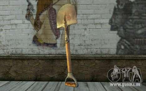 Schaufel (DayZ Standalone) für GTA San Andreas zweiten Screenshot