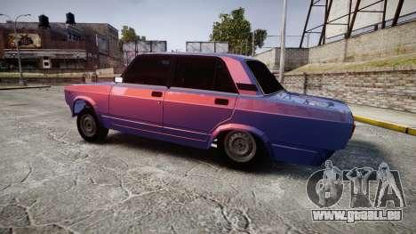 VAZ-2105 hooligan-Stil für GTA 4 linke Ansicht