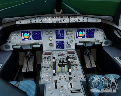 Airbus A321-200 Myanmar Airways International für GTA San Andreas Innen