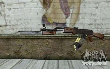 AK47 from Firearms v1 pour GTA San Andreas