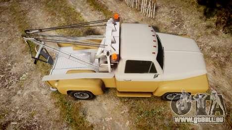 Vapid Tow Truck Jackrabbit v2 für GTA 4 rechte Ansicht