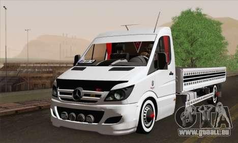 Mercedes-Benz Sprinter Etiket Kamyonet pour GTA San Andreas