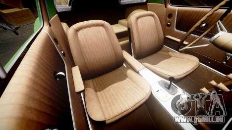 Chevrolet Corvette Stingray 1963 pour GTA 4 est un côté