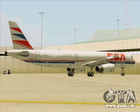 Airbus A321-200 CSA Czech Airlines für GTA San Andreas Motor