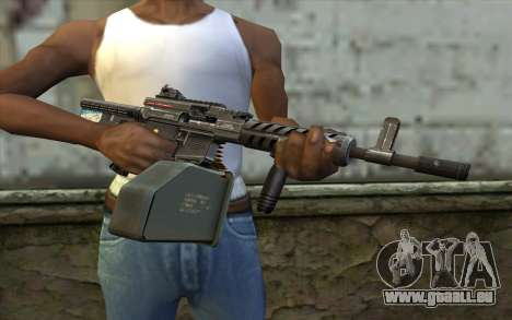 Gun Ares Shrike für GTA San Andreas dritten Screenshot