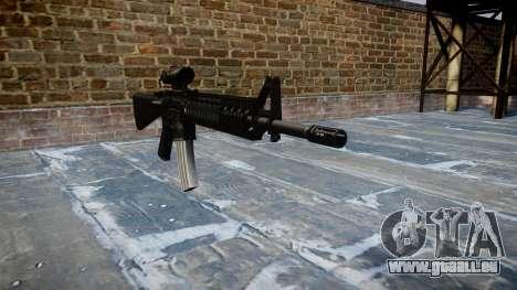 Rifle M16A4 ACOG für GTA 4