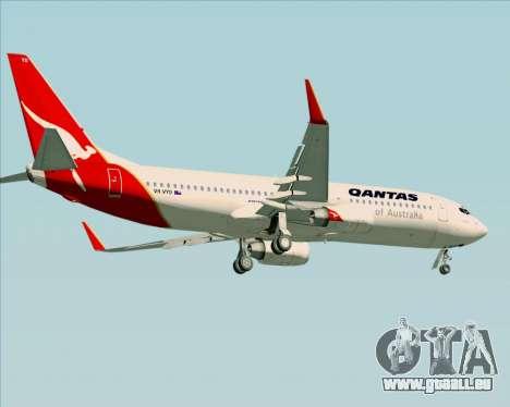 Boeing 737-838 Qantas (Old Colors) pour GTA San Andreas roue