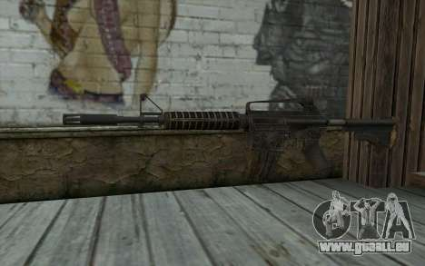 CAR-15 from Battlefield: Vietnam pour GTA San Andreas