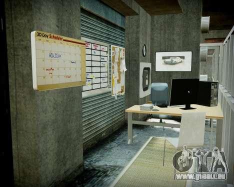 Garage avec de nouveaux intérieur Alcaline pour GTA 4 onzième écran