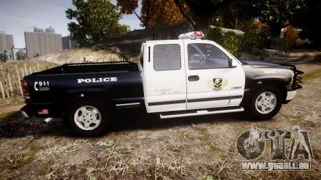 Chevrolet Silverado SWAT [ELS] pour GTA 4 est une gauche