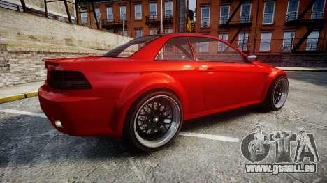 GTA V Ubermacht Sentinel XS pour GTA 4 est une gauche
