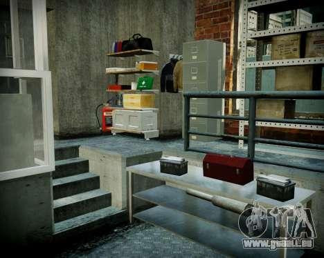 Garage mit neuem Innenraum Alkaline für GTA 4