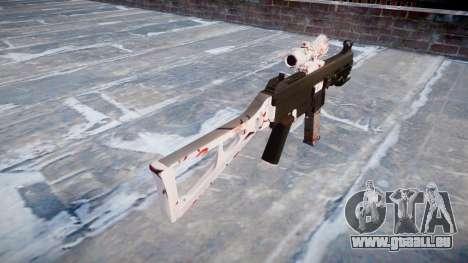 Pistolet UMP45 fleur de Cerisier pour GTA 4 secondes d'écran