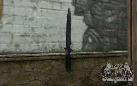 Knife from CS:S Bump Mapping v2 pour GTA San Andreas deuxième écran