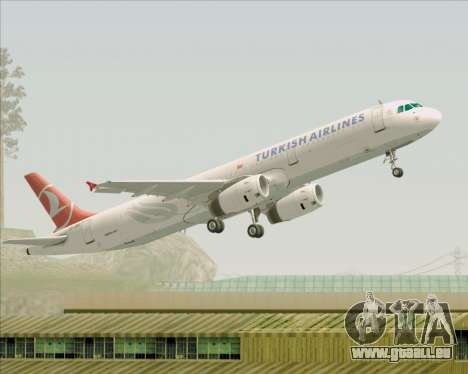 Airbus A321-200 Turkish Airlines für GTA San Andreas