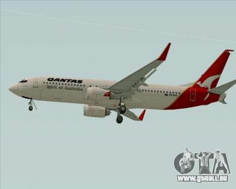 Boeing 737-838 Qantas (Old Colors) pour GTA San Andreas vue arrière
