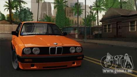 BMW M3 E30 Coupe 1987 pour GTA San Andreas