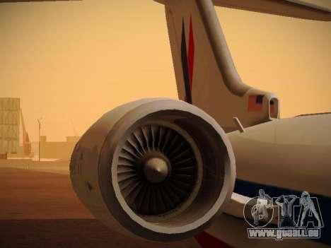 Bombardier CRJ-700 American Eagle pour GTA San Andreas moteur
