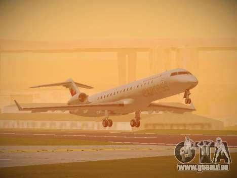 Bombardier CRJ-700 Air Canada Express pour GTA San Andreas laissé vue
