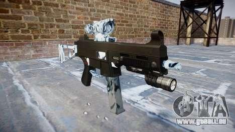 Pistolet UMP45 Crânes pour GTA 4