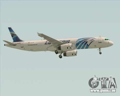Airbus A321-200 EgyptAir pour GTA San Andreas vue de côté
