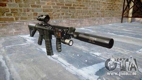 Maschine Taktische M4A1 CQB für GTA 4