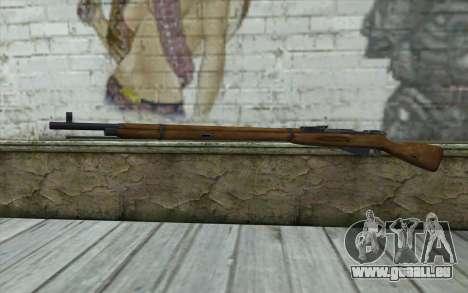 Die Gewehre Mosin-v1 für GTA San Andreas