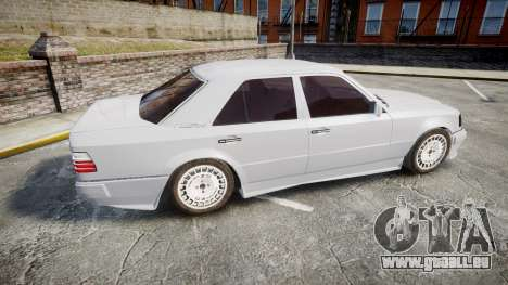 Mercedes-Benz E500 1998 Tuned Wheel White für GTA 4 linke Ansicht