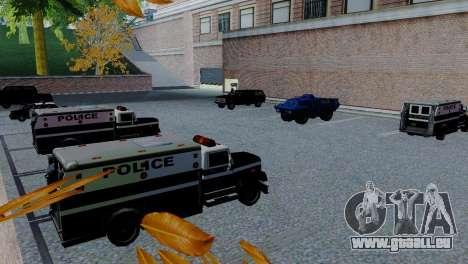 Véhicules neufs en SFPD pour GTA San Andreas