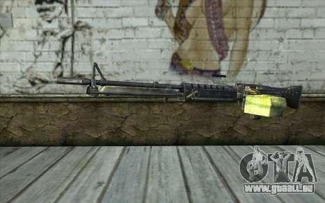 M60 from Battlefield: Vietnam für GTA San Andreas