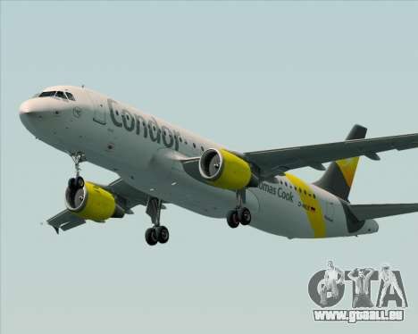 Airbus A320-212 Condor pour GTA San Andreas roue